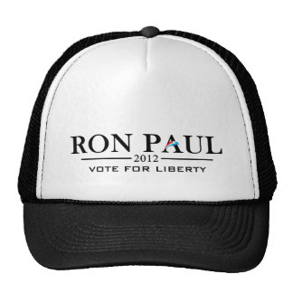 Ron Paul 2012 - Vote for Liberty black Trucker Hats