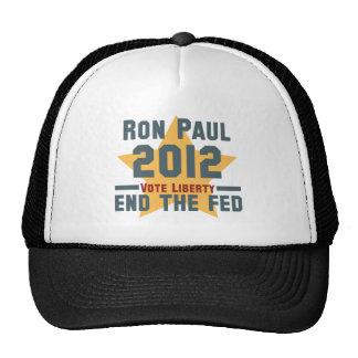 RON PAUL 2012 VOTE LIBERTY CAP