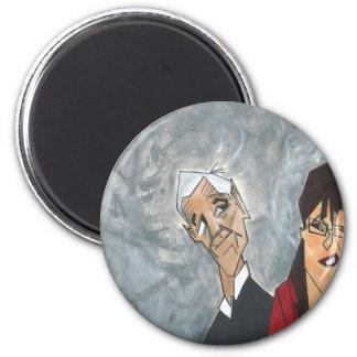 Ron Paul and Sarah Palin Magnets