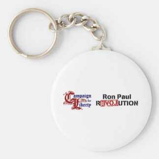 Ron Paul Campaign For Liberty Revolution Keychain