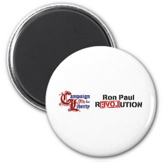 Ron Paul Campaign For Liberty Revolution Fridge Magnets