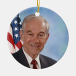 Ron Paul Christmas Tree Ornament