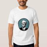 Ron Paul Circle Blue Grn T-shirt