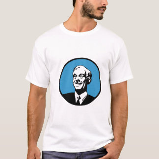 Ron Paul Circle Blue T-Shirt