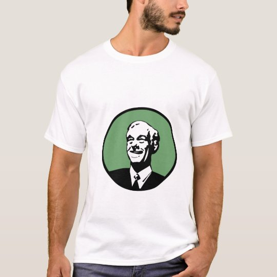 Ron Paul Circle Green 2 T-Shirt