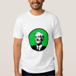 Ron Paul Circle Green Tee Shirts
