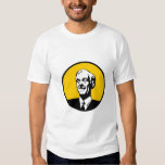 Ron Paul Circle Yellow Tee Shirt