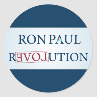 Ron Paul Classic Round Sticker