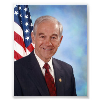Ron Paul: Congressman, Doctor, Future President Photographic Print