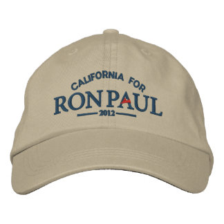 Ron Paul Customizable Embroidered Hat