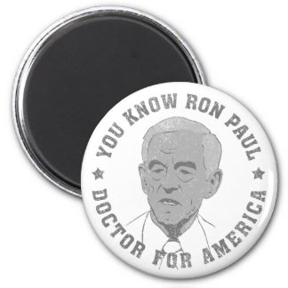 Ron Paul doctor for America Magnets