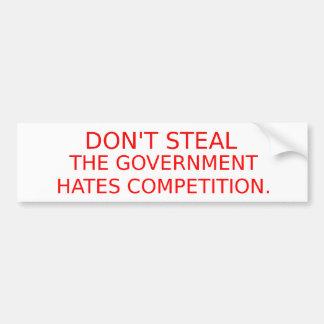 Ron Paul Dont Steal Bumper Sticker