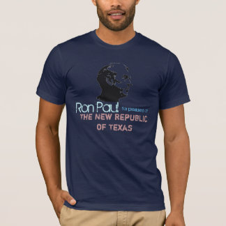 Ron Paul face Stencil , Ron Paul, for president... T-Shirt