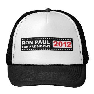 Ron PAul for President 2012 Mesh Hat
