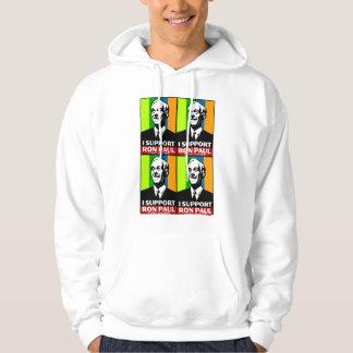 ron paul for president 2012 hooded pullover