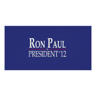 Ron Paul for President 2012 Photograph