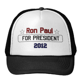 Ron Paul for President 2012.png Mesh Hat