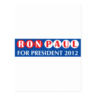 Ron Paul for President 2012 Postcards