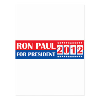 Ron Paul for President 2012 Post Card