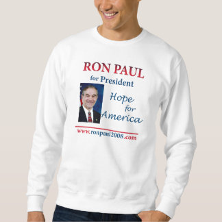 Ron Paul for President 2012 Pull Over Sweatshirts