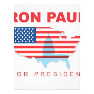 Ron Paul for President (3) Custom Flyer