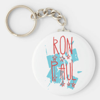 Ron Paul for President Basic Round Button Key Ring