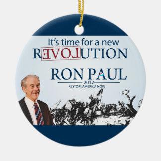 Ron Paul for President Christmas Ornament