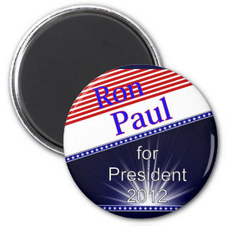 Ron Paul For President Explosion Refrigerator Magnet