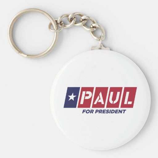 Ron Paul for President Keychains