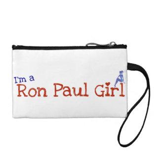 Ron Paul Girl Wris tclutch Coin Purse