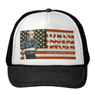 """Ron Paul """"Going to Work for American Freedom"""" Hat"""