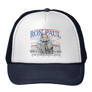 Ron Paul GOP Mascot 2012 Cap