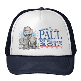 Ron Paul GOP Mascot 2012 Cap
