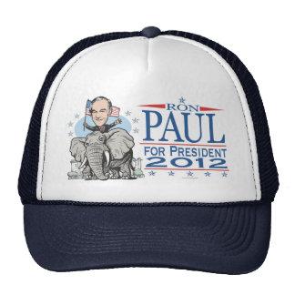 Ron Paul GOP Mascot 2012 Hats