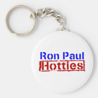 Ron Paul Hotties Basic Round Button Key Ring