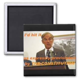 ron paul id hit it fridge magnets