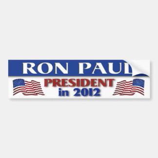 Ron Paul in 2012 Bumper Sticker