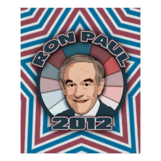Ron Paul in 2012 Poster