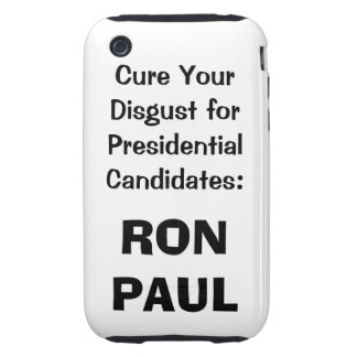 Ron Paul iphone case in white