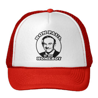 Ron Paul is my homeboy Hats
