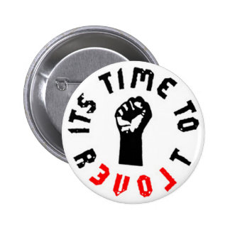 Ron Paul It's Time to Revolt Button