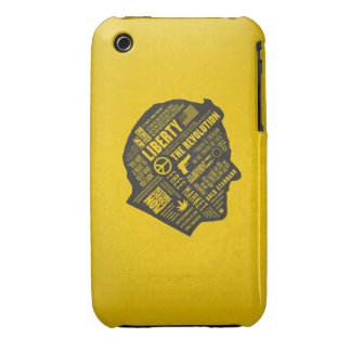 Ron Paul Libertarian Abstract Thought iPhone 3 3GS iPhone 3 Case-Mate Cases