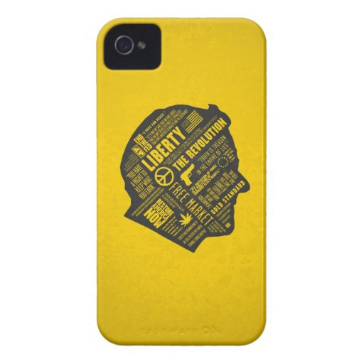 Ron Paul Libertarian Abstract Thought iPhone 4/4S iPhone 4 Cover