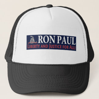 Ron Paul: Liberty and Justice for ALL Trucker Hat