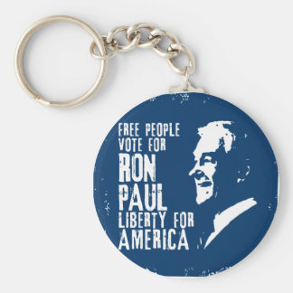 Ron Paul Liberty for America Keychains