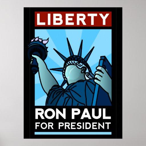 Ron Paul Liberty Poster