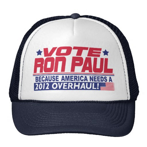 Ron Paul Overhaul Mesh Hat
