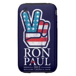 Ron Paul Peace Case-Mate Case iPhone 3 Tough Cover