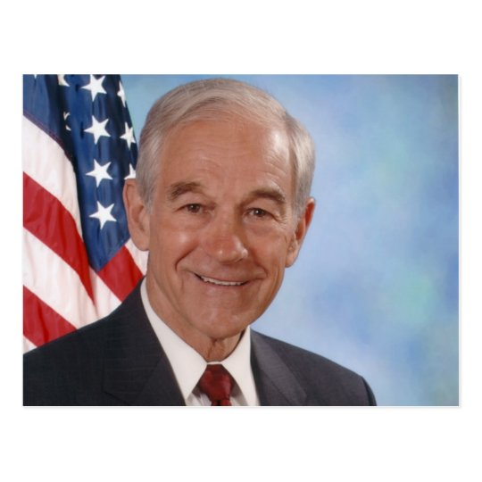Ron Paul Postcard