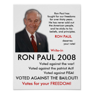 RON PAUL POSTER! POSTER